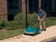 Image of Tennant S3B walk-behind battery sweeper